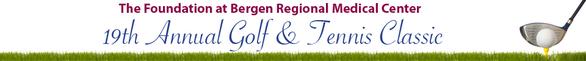 Bergen Regional Medical Center039s 19th Annual Golf amp Tennis Classic